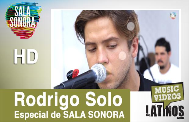 Rodrigo Solo en SalaSonora