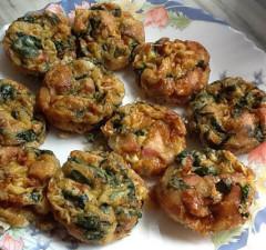 Tortillitas de Espinaca